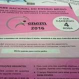 PF afirma que houve vazamento das provas do Enem 2016
