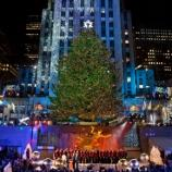 The 2016 'Rockefeller Center Christmas Tree' special airs on Wednesday night. [Photo via Flickr Creative Commons]
