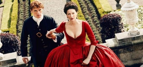 Outlander Season 2 promotional poster / Photo via E! News