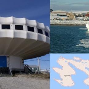 Igloolik, o mică insulă din Oceanul Arctic canadian care are inclusiv un Centru de Cercetare este protagonista unor fenomene ciudate