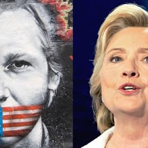 Julian Assange o acuză pe Hillary Clinton că a primit fonduri din aceleași surse de finanțare ca Statul Islamic