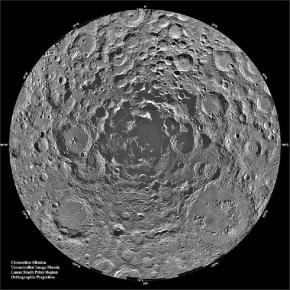The Lunar South Pole (courtesy of NASA)