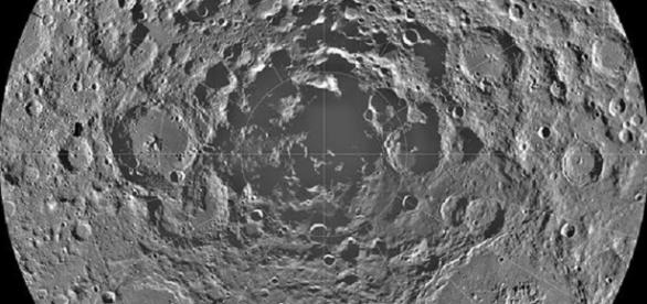 The Lunar South Pole (courtesy of NASA)