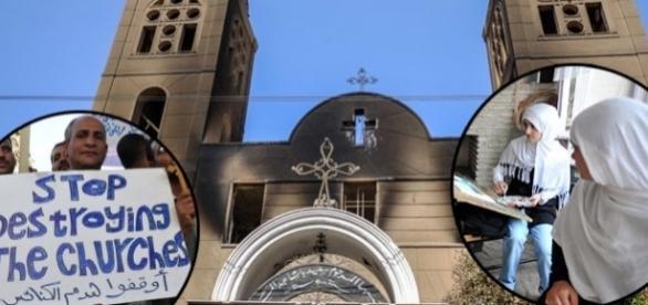 Persecuțiile în Egipt merg de la distrugerea bisericilor creștine, până la impunerea religiei musulmane