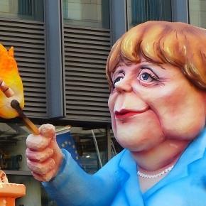 Angela Merkel podpala świat (fot. pixabay)