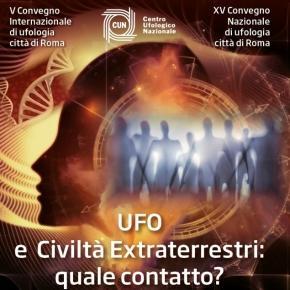 La locandina del Quinto Convegno Internazionale di Ufologia organizzato dal CUN