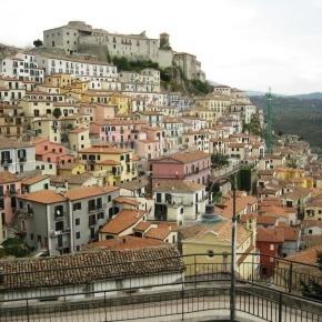 Un tipico borgo della Basilicata