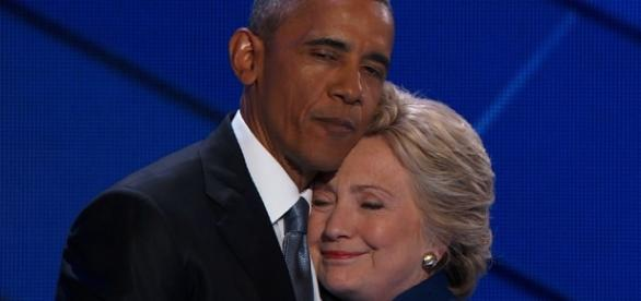 Obama playing with legacy fire hanging around with Hillary on the campaign trail? Photo: Blasting News Library - CNN Video - cnn.com