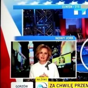Lament dziennikarki TVN na wizji.