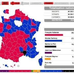 1er tour de la présidentielle - les-crises.fr