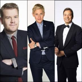 James Corden, Ellen DeGeneres, Jimmy Fallon - TV-Moderatoren warnten das Land vor seinem neuen Präsidenten.