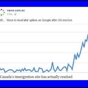 Mive to Australia SPikes on Google / Photo screencap via News.com.au Facebook PD