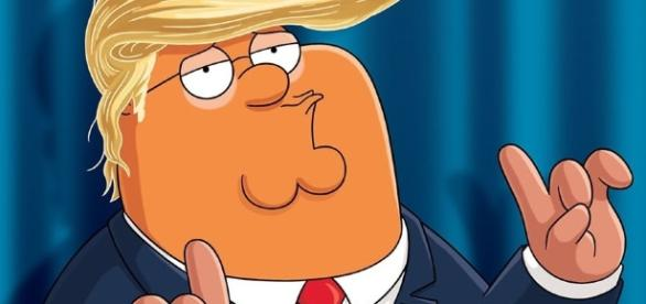"Donald Trump ""campaigning"" in favor of 'Family Guy', the image of ... - phoneia.com"