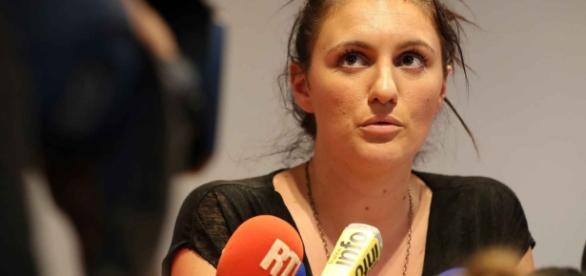 Sandra Bertin à la conférence de Nice