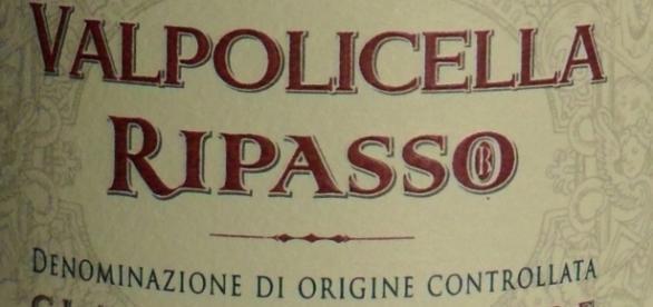 Weinetikett eines Valpolicella Ripasso aus dem Veneto