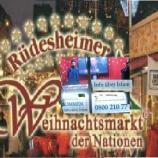 Infostand der Ahmadiyya-Gemeinde auf dem Rüdesheimer Weihnachtsmarkt