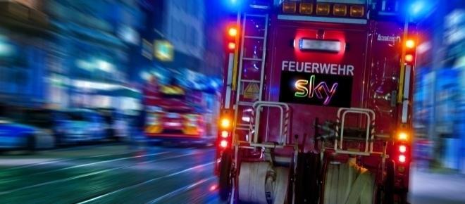 Sky Bundesliga jetzt bei der Feuerwehr: Fußball und Rabatt für Wachen!