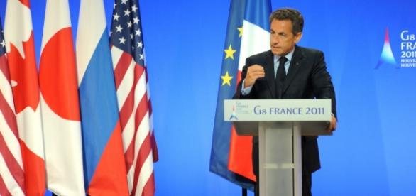 Nicolas Sarkozy Sommet G8 - opinion - CC BY