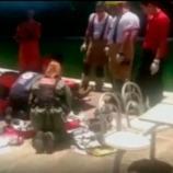 Trabalhador resgata adolescente que estavam se afogando mas acaba morrendo.