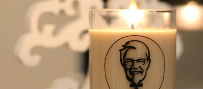 KFC are releasing a fried chicken scented candle