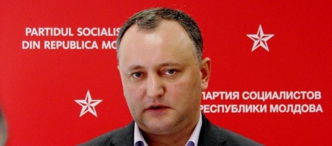 IGOR DODON, președinte oficial al R. Moldova