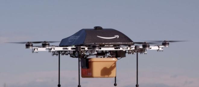 Amazon : Première livraison réussie d'un colis ... par un drone !