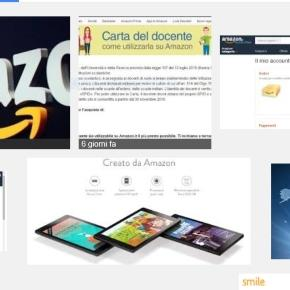 Carta Docente Amazon Due Buoni