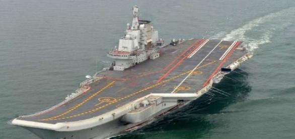 China's 1st aircraft carrier carries out live-fire exercise - SFGate - sfgate.com