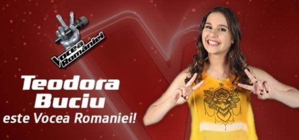 Ea este Teodora Buciu, noua Voce a României