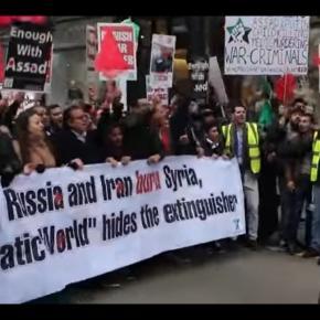 Tysiące muzułmanów manifestują w Londynie (scrn)