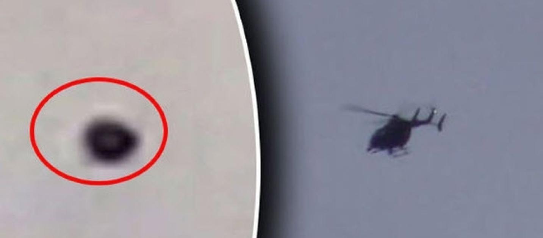 Elicottero Nero E Giallo : Elicottero nero insegue un ufo il video fa giro del mondo