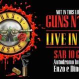 Il logo dell'evento apparsa sulla pagina Facebook dell'Autodromo