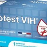 L'auto-test per l'Hiv è arrivato in farmacia