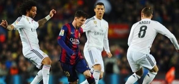 Barcelona e Real Madrid jogam mais um clássico do futebol espanhol