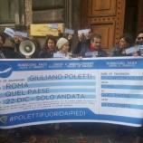 Contestazione al Ministero del Lavoro: 'Poletti fuori dai piedi'