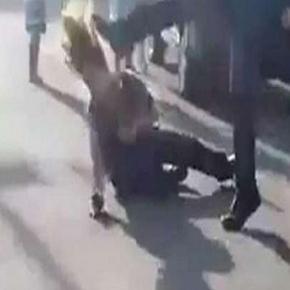 Agressor da vigilante foi solto após pagar fiança.