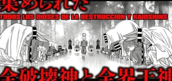 Los 12 Dioses de la Destrucción y Kaioshins