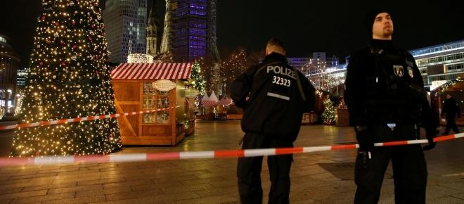 Footage emerges from the Berlin Christmas market attack