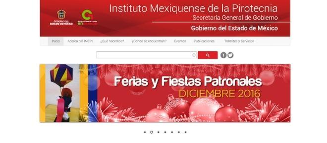Qué es el Instituto Mexiquense de la Pirotecnia de la Secretaria General de Gobierno
