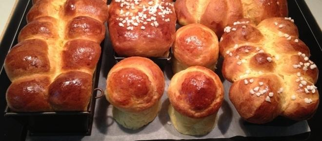Christmas food - easy brioche and low calorie chocolate sauce you'll love
