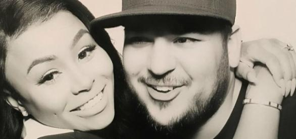 Blac Chyna and Rob Kardashian, is Dream Kardashian a brand name? Photo: Blasting News Library - hiphopdx.com