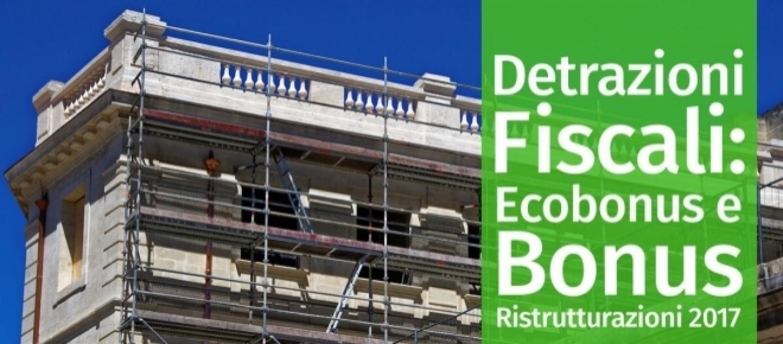 Ristrutturazioni bonus e incentivi nel 2017 for Incentivi ristrutturazione casa 2017