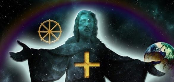 Jesus Christus und die Lehre der Wiedergeburt.