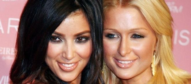 Kim Kardashian se reconcilia con Paris Hilton
