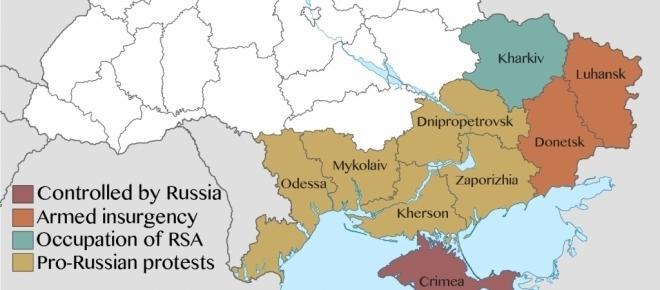 Krwawe masakry w zachodnim Donbasie [WIDEO 18+]
