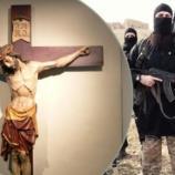 Bestiile ISIS au răstignit creștini pe cruce în Irak în fața familiilor lor