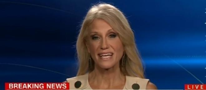Kellyanne Conway nearly speechless after CNN host presses her on Donald Trump Taiwan call