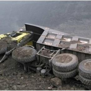 Coal mine collapse in India '/ Photo screencap via OneIndiaGujarat - Twitter