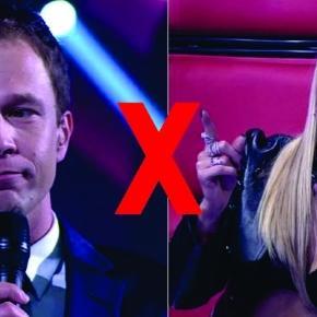 O apresentador soltou a 'pérola' após a cantora tecer elogios a Michel Teló
