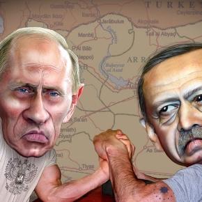 Władymir Putin i Recep Tayyip Erdoğan